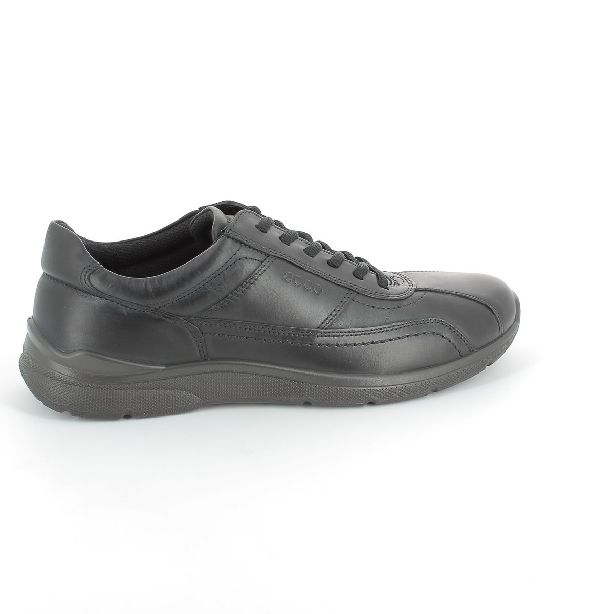 ecco irving 511504 02001 black casual shoes