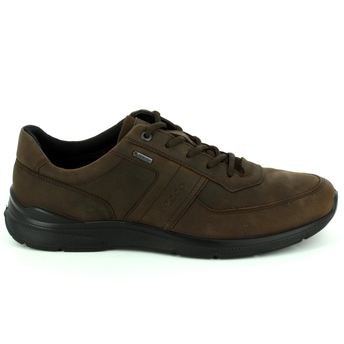 ecco irving tex 511614 02072 brown casual shoes