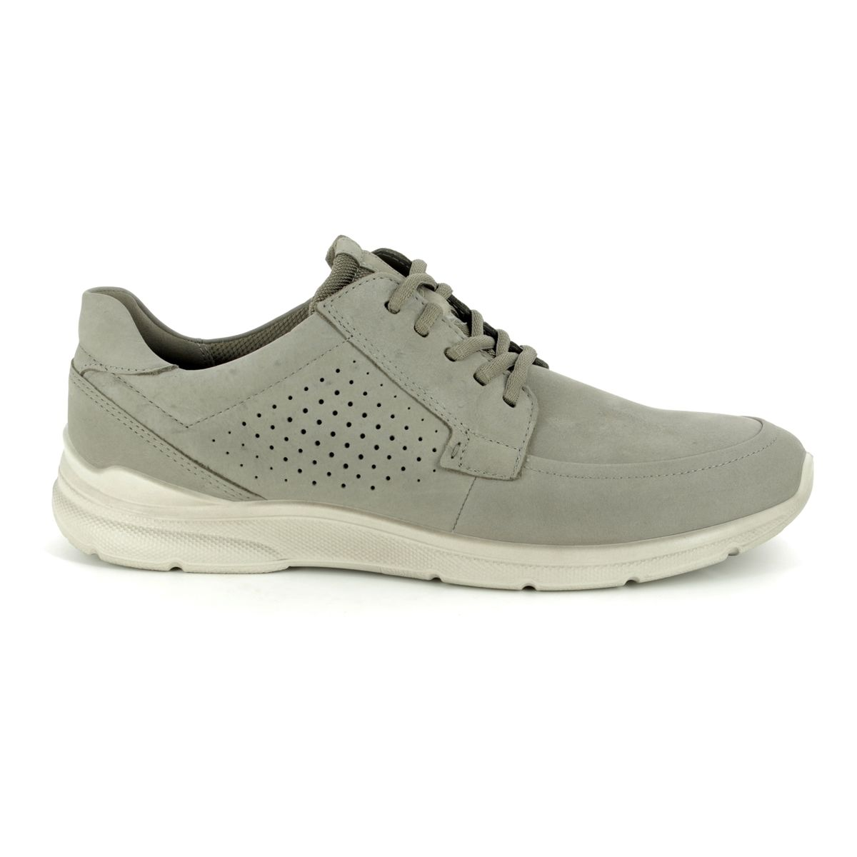 d7eb5f065634 ECCO Casual Shoes - Grey matt leather - 511704 02375 IRVING LACE