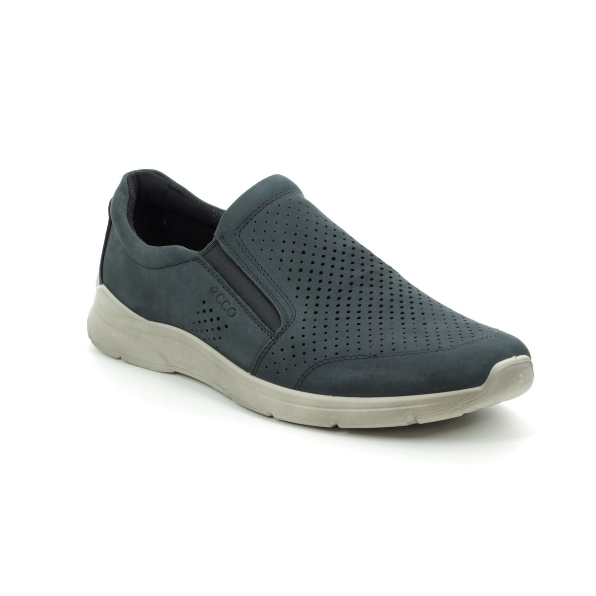 6aabcf099490 ECCO Casual Shoes - Navy nubuck - 511644 02058 IRVING SLIP-ON