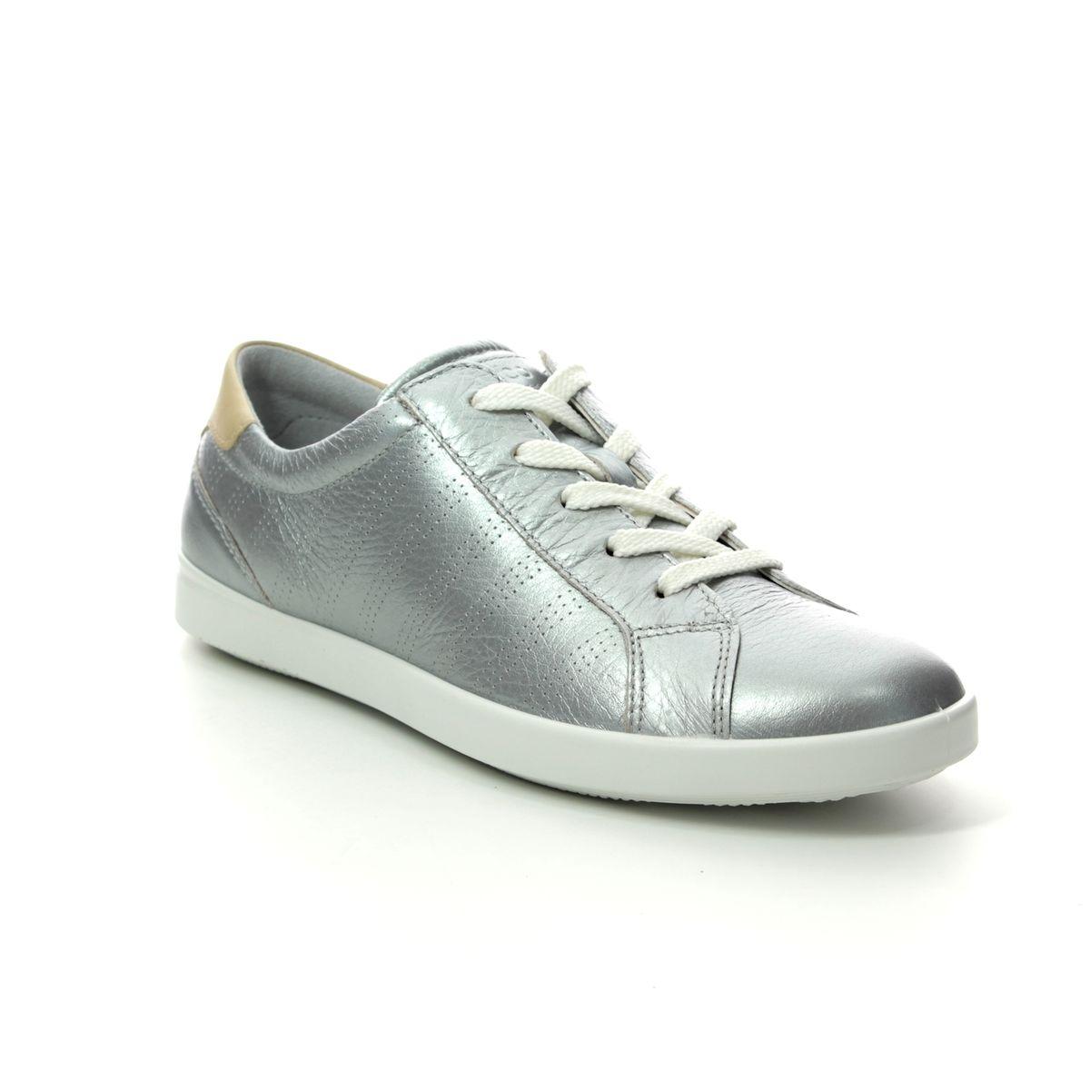 ECCO Leisure 205033-51322 Silver trainers