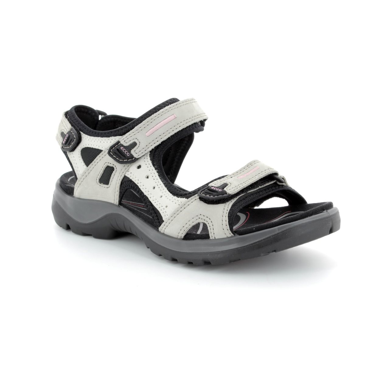 7512fd31a84c ECCO Offroad Lady 069563-54695 Light grey multi Walking Sandals