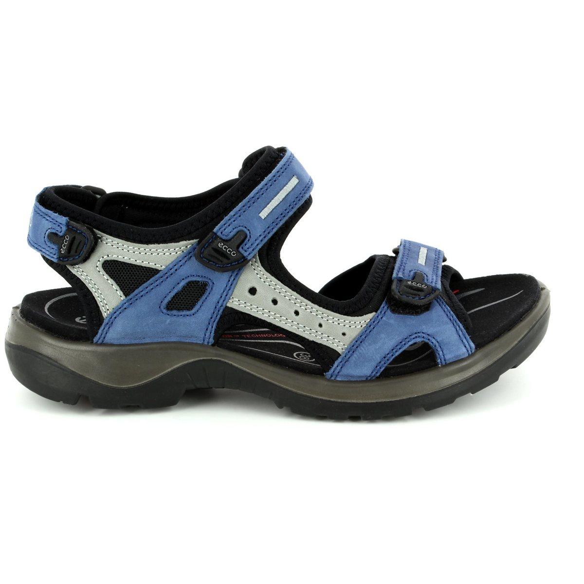 ecco offroad 069563 57807 blue multi walking sandals. Black Bedroom Furniture Sets. Home Design Ideas