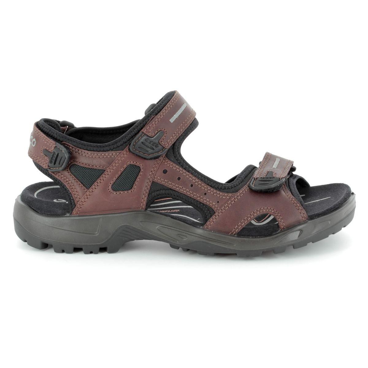 90ac63793d4fe ECCO Sandals - Brown - 822094/01280 OFFROAD YUCATA