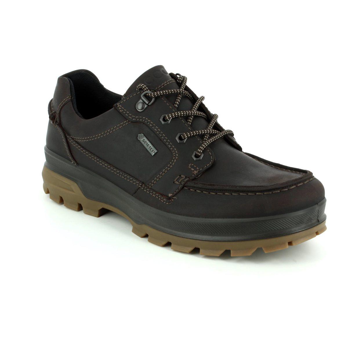 ECCO Casual Shoes - Brown nubuck - 838004 02178 RUGGED TRACK 1944 GORE-TEX f21440cc81b