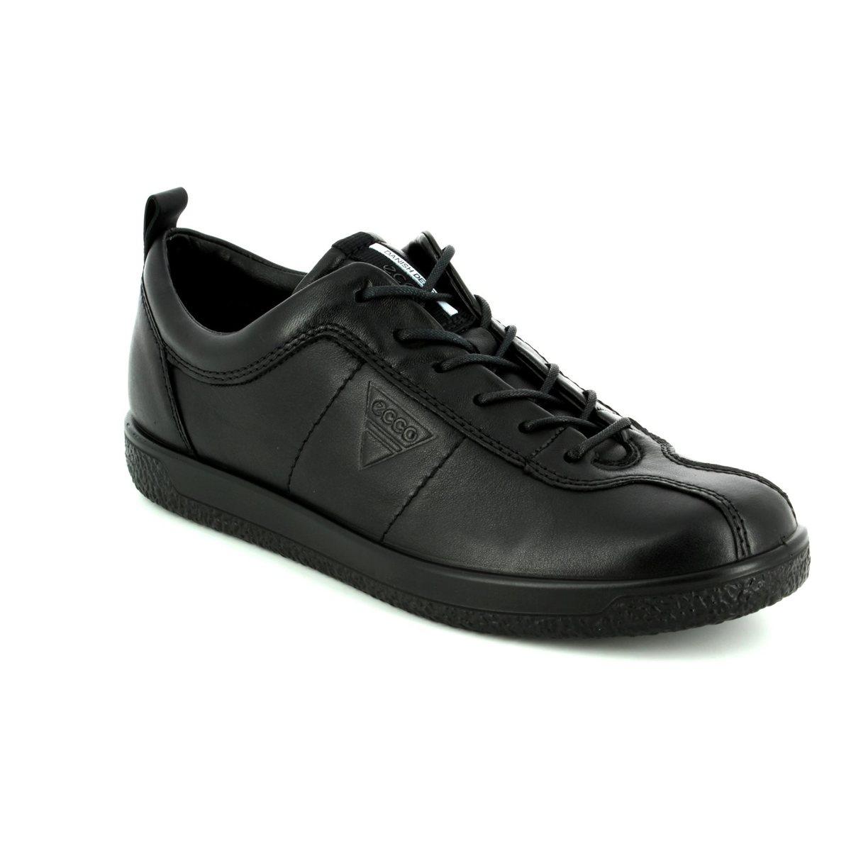ae386d36f24ff ECCO Lacing Shoes - Black - 400503/01001 SOFT 1 LADIES