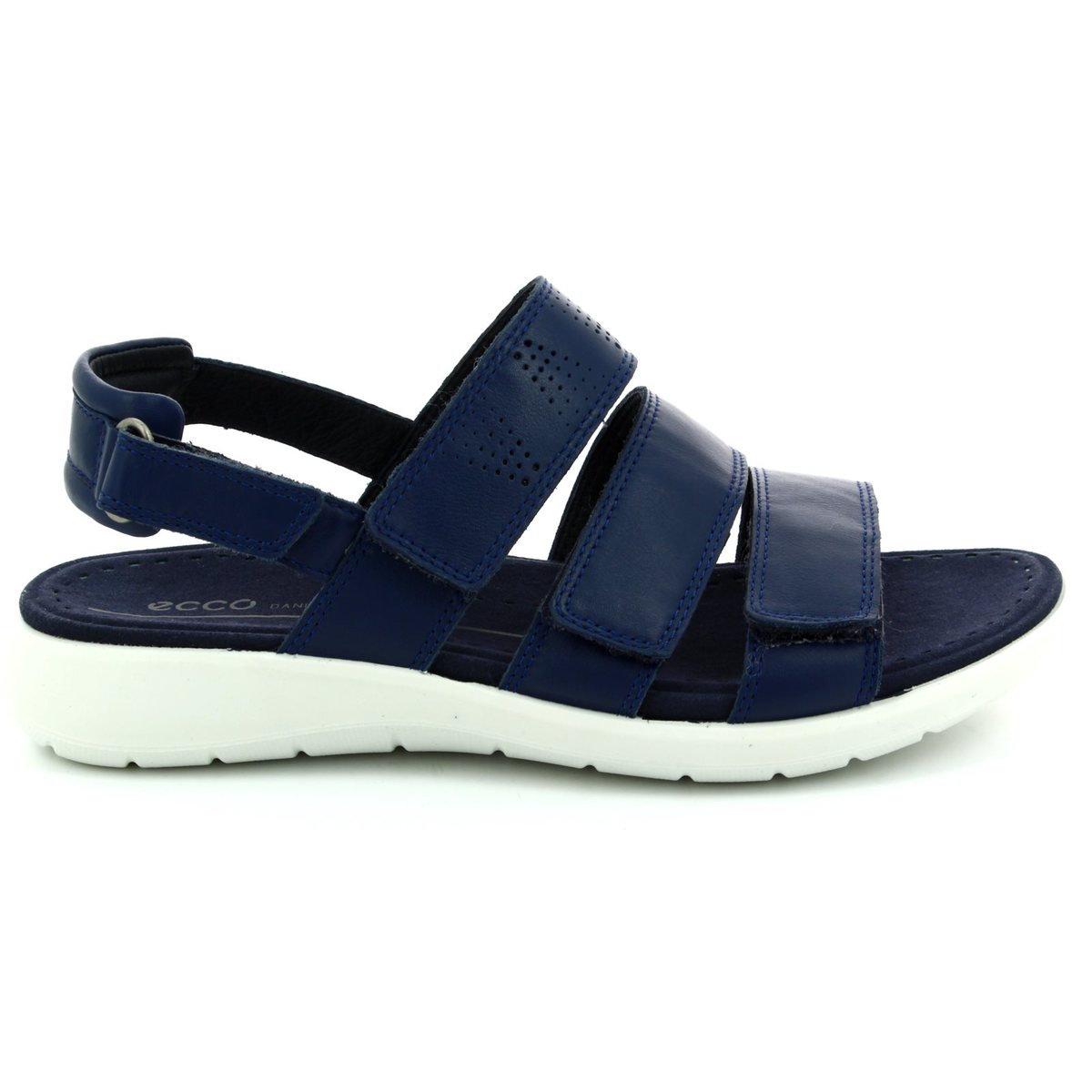 4255064ce65d ECCO Walking Sandals - Navy - 218523 01048 SOFT 5 SANDAL