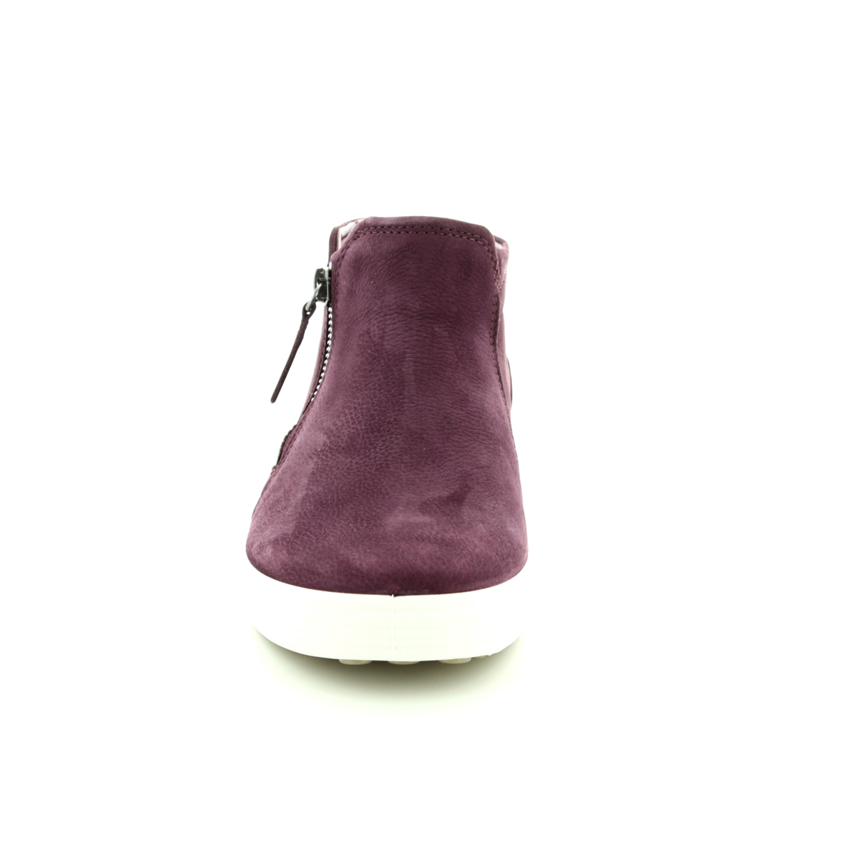 c91414302b6f9 ECCO Ankle Boots - Wine - 430243/01070 SOFT 7 LADIES BOOT