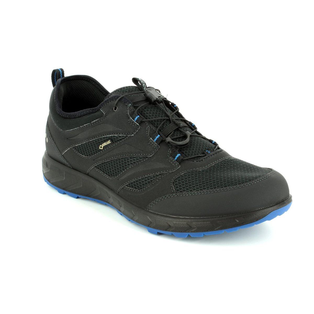 6860a1acec11 ECCO Casual Shoes - Black - 803524 51052 TERRATRAIL MENS GORE-TEX