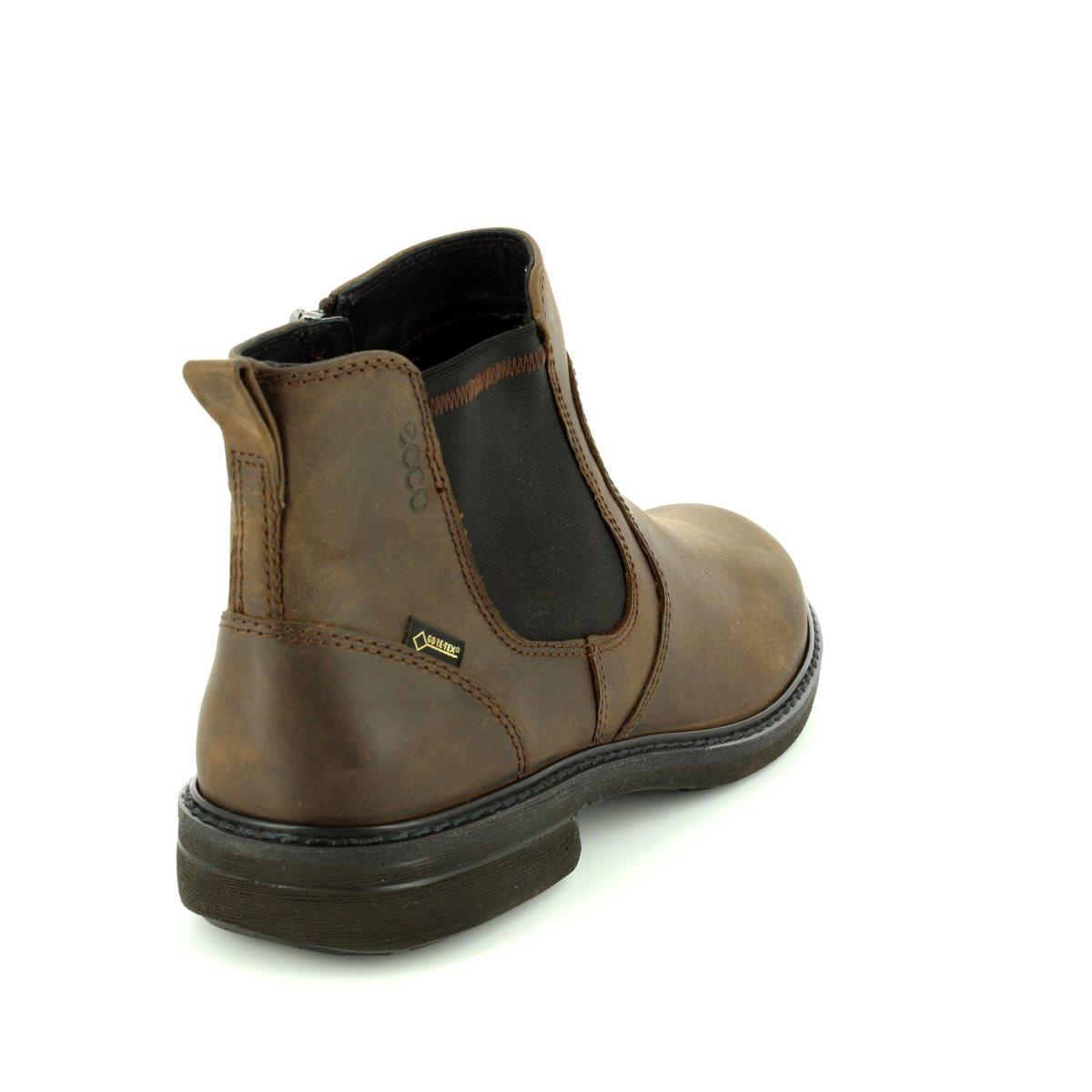 c003fff3ef7b ECCO Boots - Brown nubuck - 510214 02482 TURN GORE-TEX