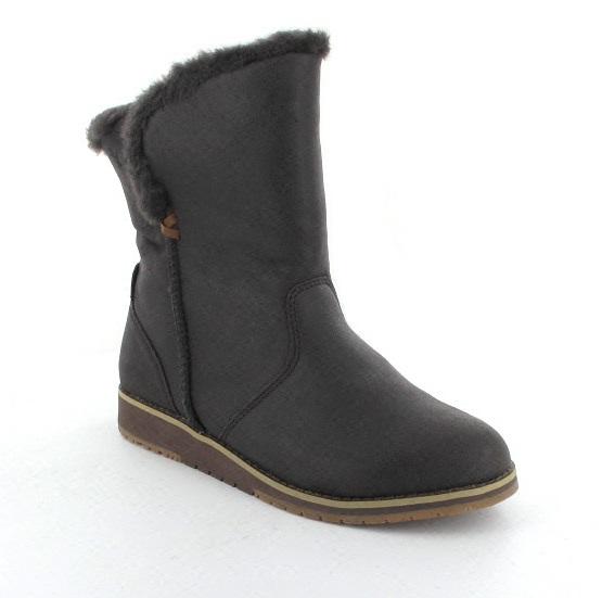 debfb9d0d6 EMU Australia Ankle Boots - Chocolate brown - W11025/20 BEACH LO