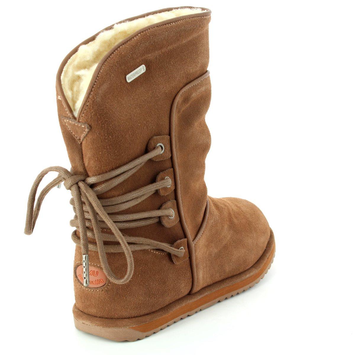 803a2451f77 EMU Australia Boots - Tan suede - K11309 10 ISLAY KIDS