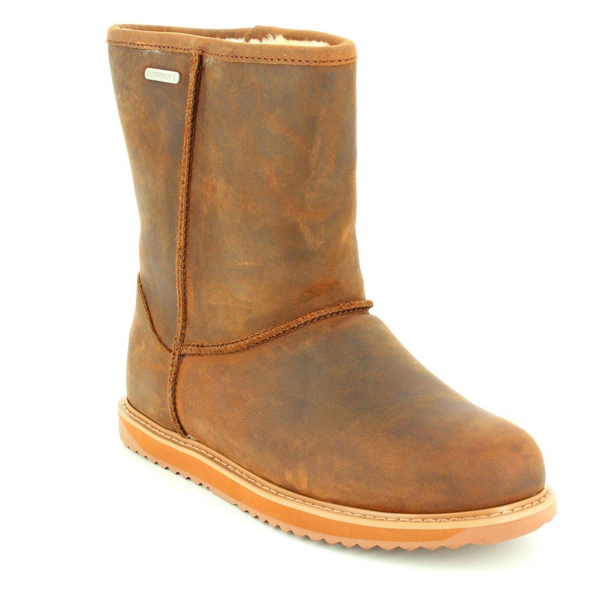 1e1e654f74 EMU Australia Ankle Boots - Brown - W11349/20 PATERSON LO