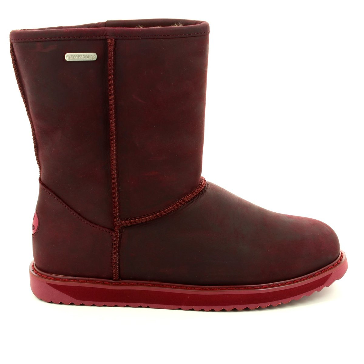 2fac68c390 EMU Australia Ankle Boots - Purple - W11349/80 PATERSON LO