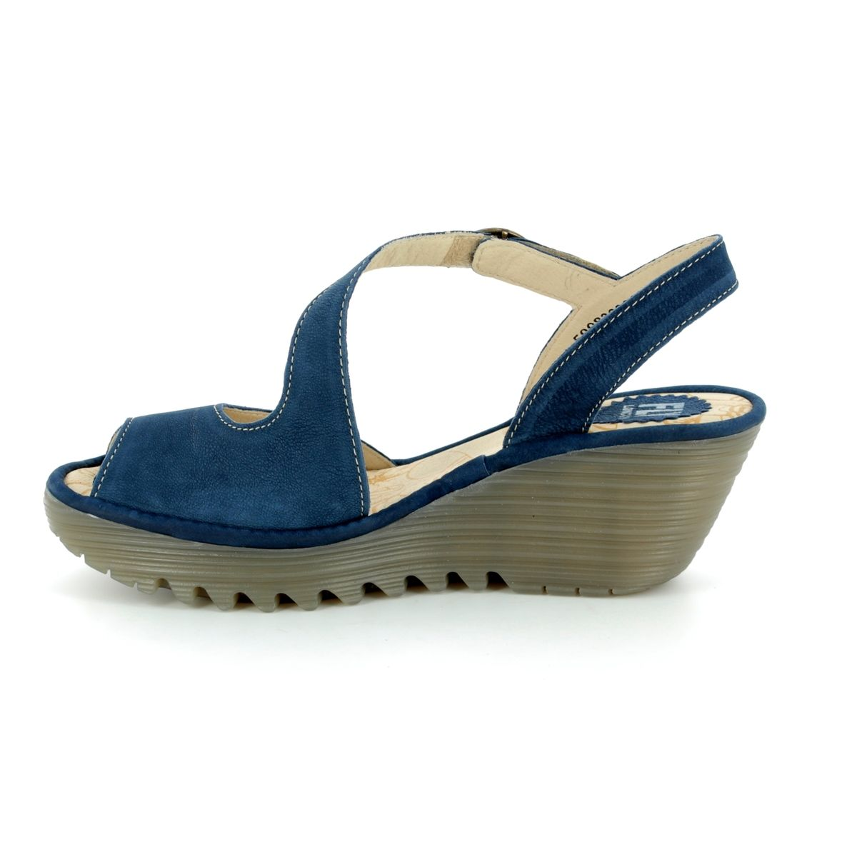 P500836 Sandals London Yamp 836 Blue Fly Wedge 001 A54r3qjlcs Nwn0Ovm8