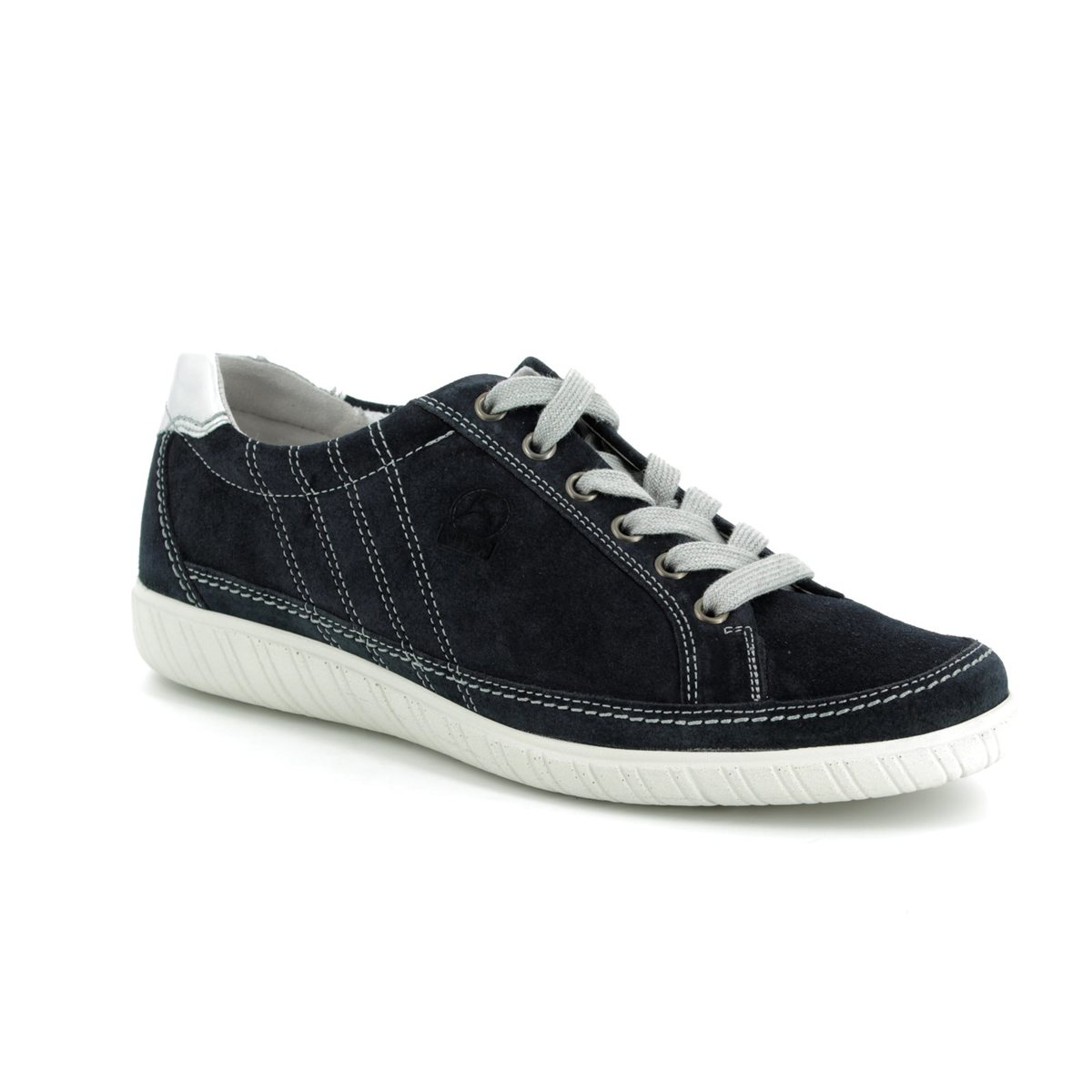 Gabor Amulet 86.458.36 Navy Suede trainers