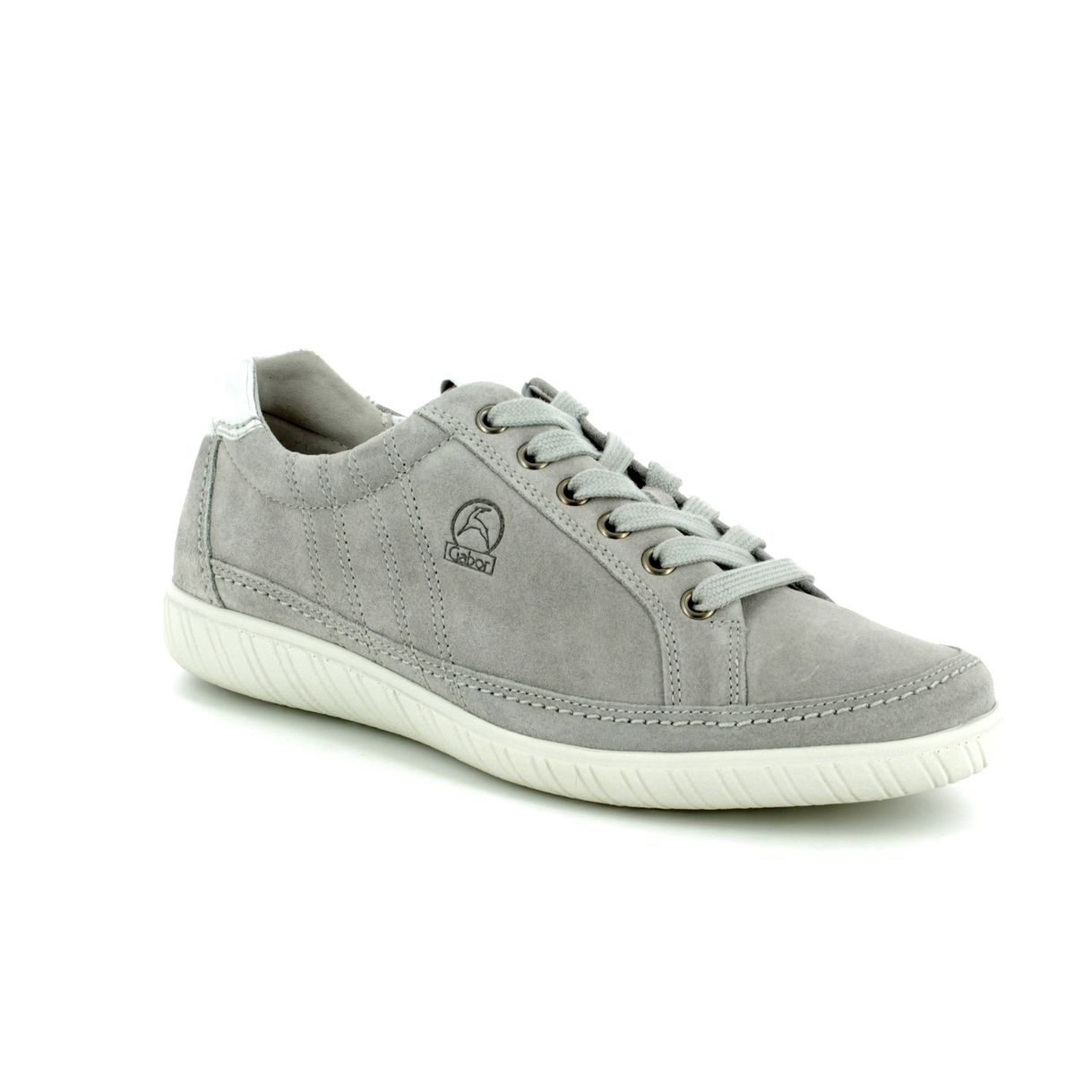 76dafce4a15e1 Gabor Trainers - LIGHT GREY SUEDE - 86.458.40 AMULET