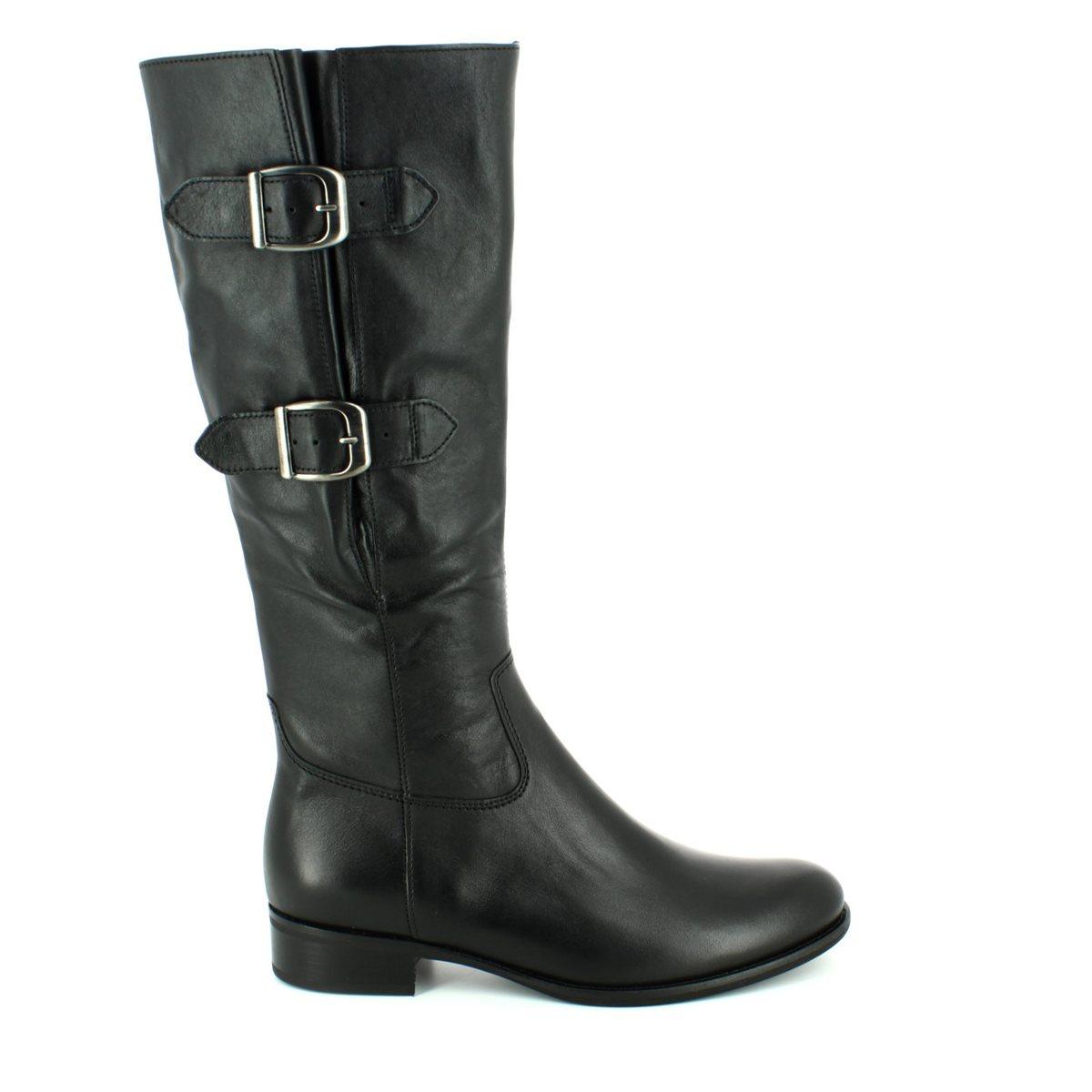Gabor Astoria 71 636 27 Black Knee High Boots