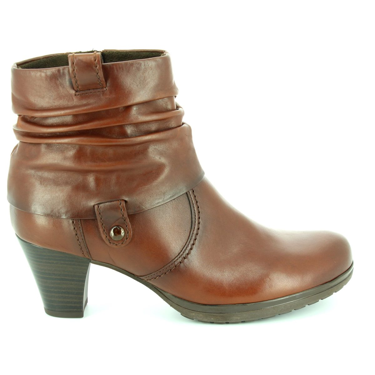 0d86331f6 Gabor Brignall Colla 56.083.62 Brown ankle boots