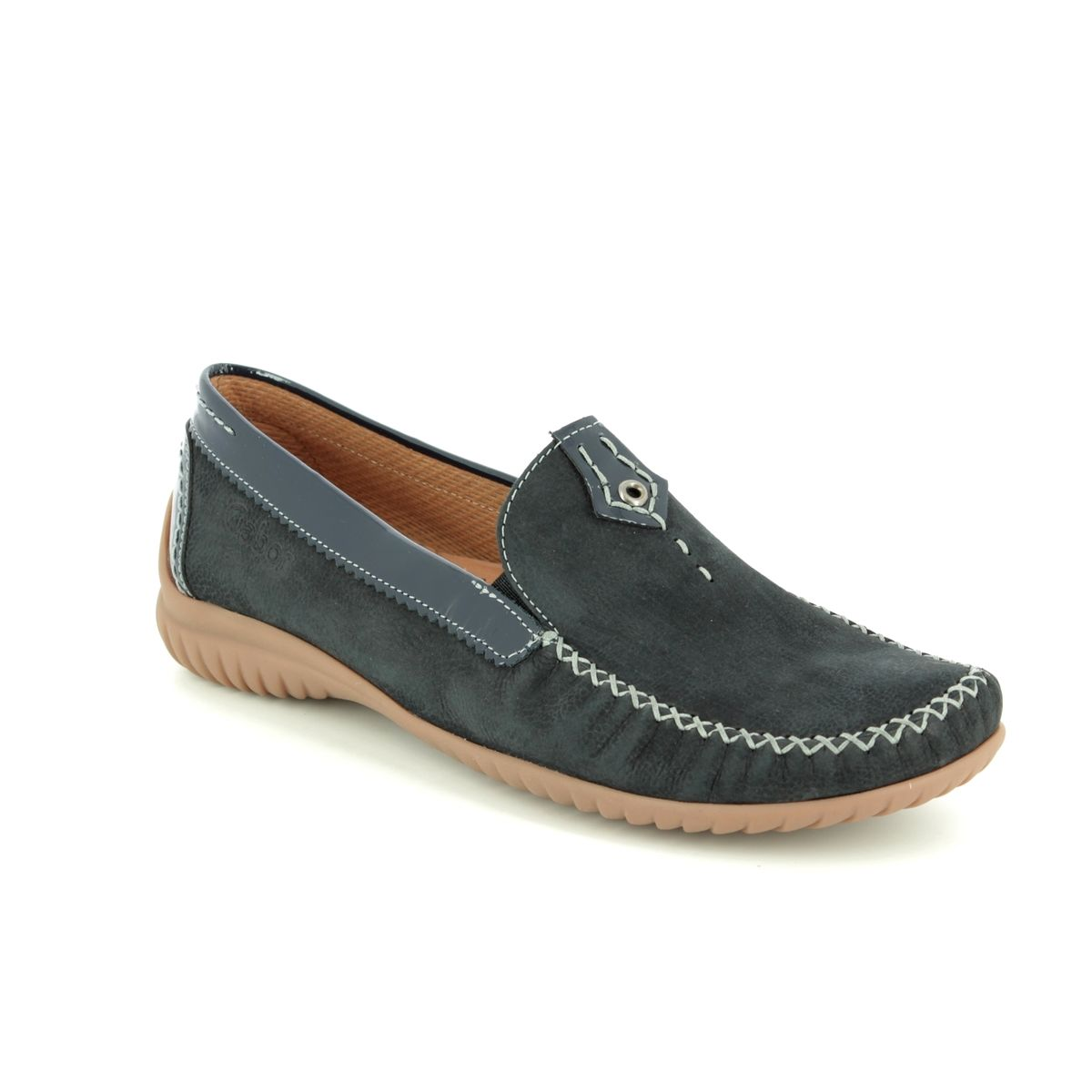 df33e05249f Gabor Loafers - Navy patent - 26.090.26 CALIFORNIA