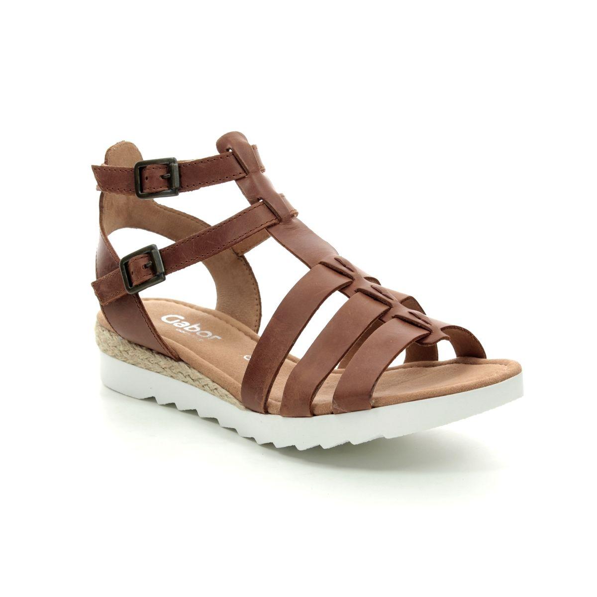 93b6652f8ff2 Gabor Gladiator Sandals - Tan - 22.744.54 FELICITY