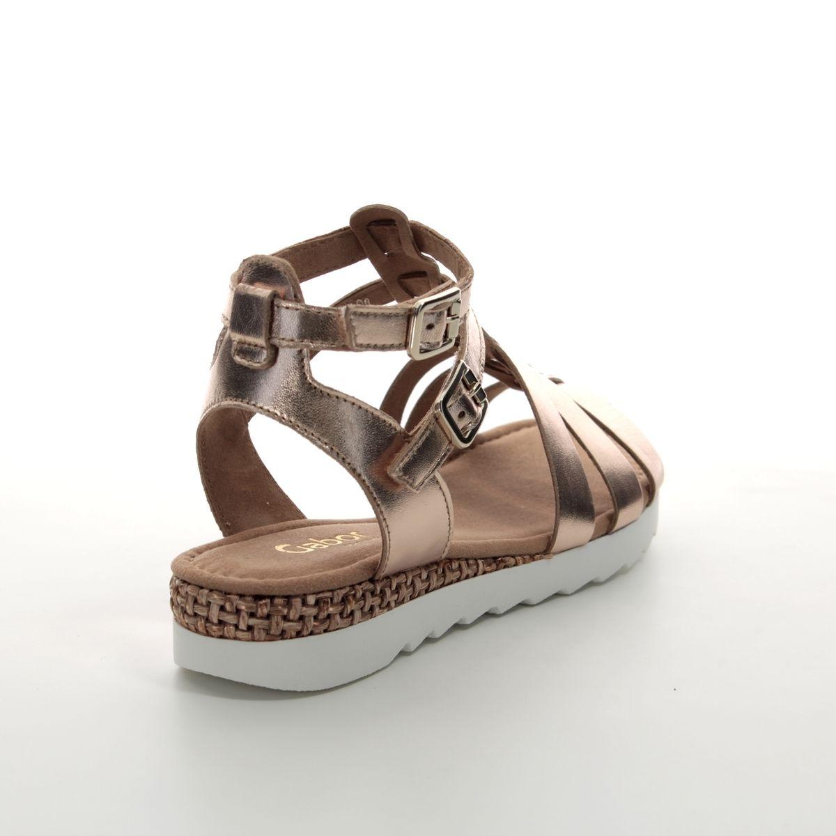 6ff2913042ac Gabor Gladiator Sandals - Pewter - 22.744.94 FELICITY