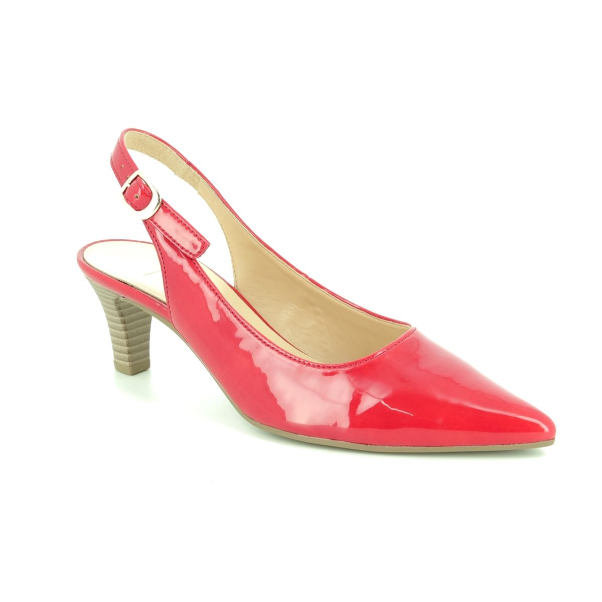 1869d8ef8c2 Gabor Slingback Shoes - Red patent - 21.550.75 HUME 2