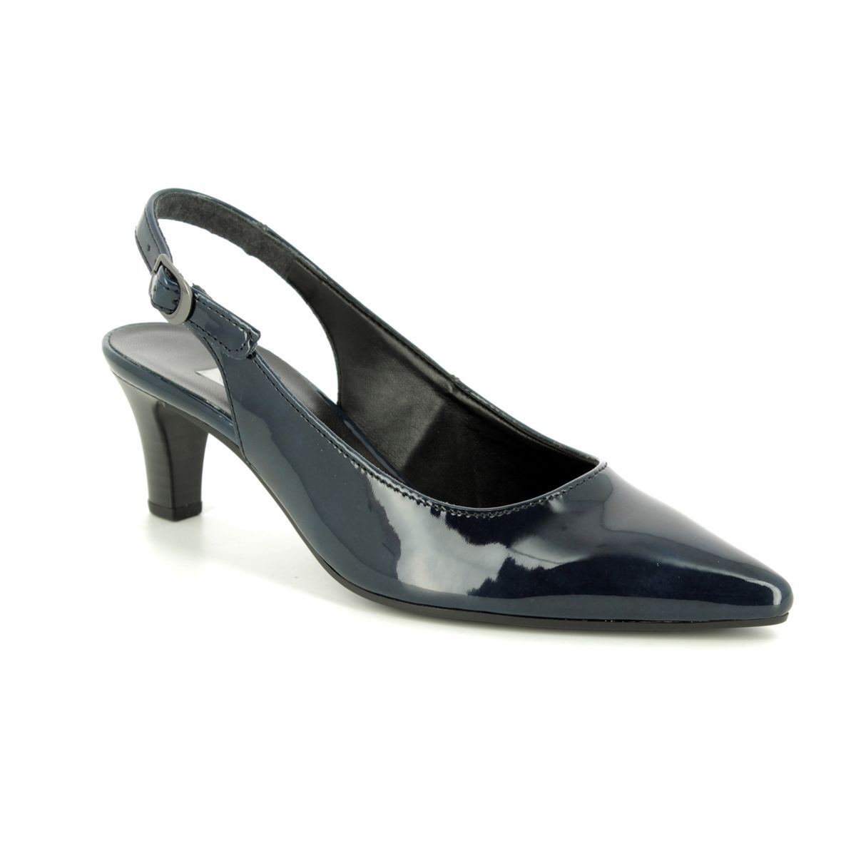 a63b55d07bb Gabor Slingback Shoes - Navy patent - 21.550.76 HUME 2