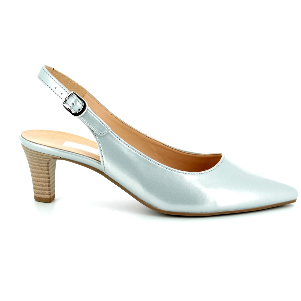 0b1df3be2e1 Gabor High-heeled Shoes - Silver - 81.550.92 HUME 2