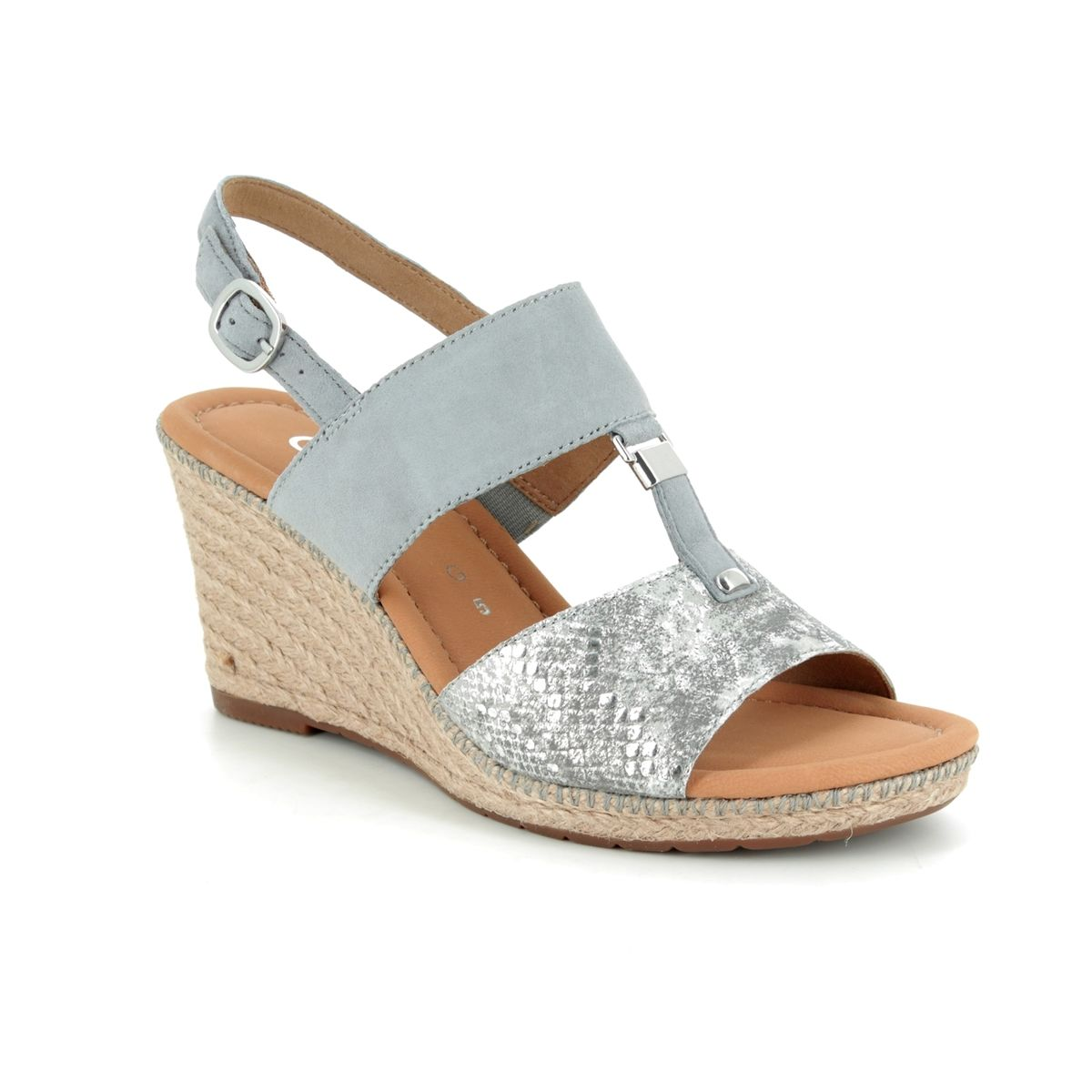 f197430b4c Gabor Wedge Sandals - Silver multi - 22.827.60 KEIRA