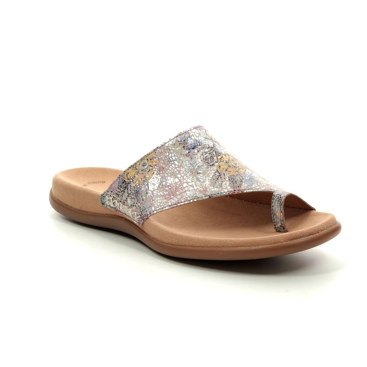 edd9bda2442 Gabor Slide Sandals - Floral print - 23.700.53 LANZAROTE