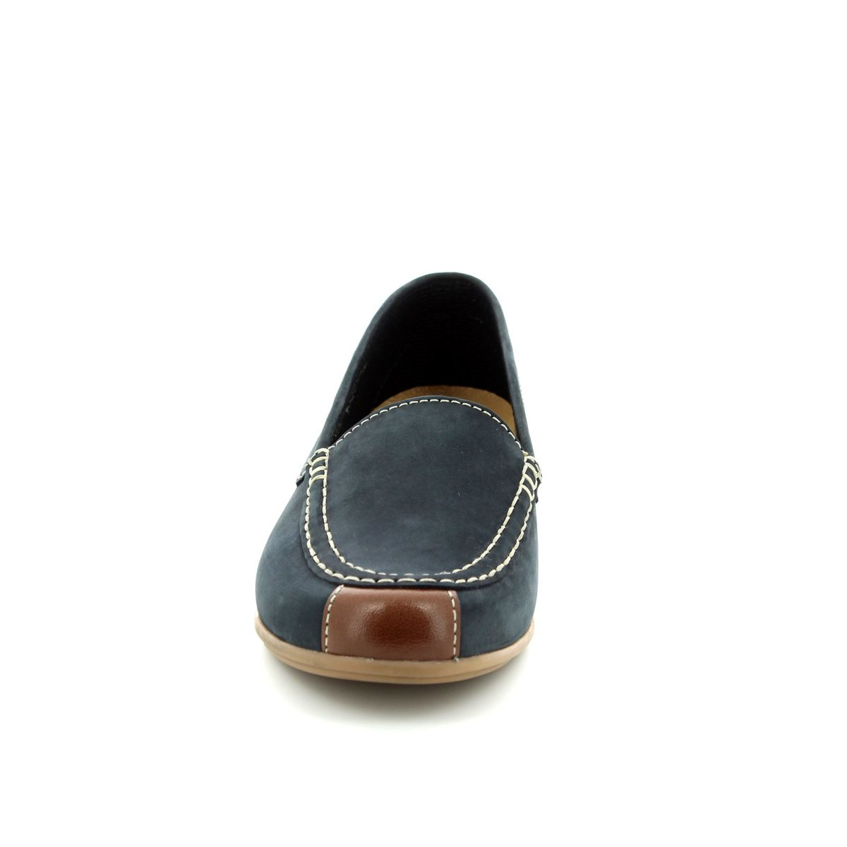 daf9accf4fe Gabor Loafers - Navy-tan - 83.260.16 LOIS