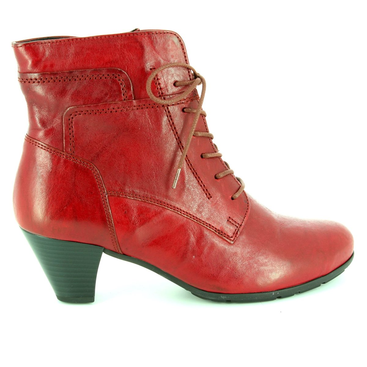 aaf89bf4e5e Gabor Ankle Boots - Dark Red - 55.644.55 NATIONAL