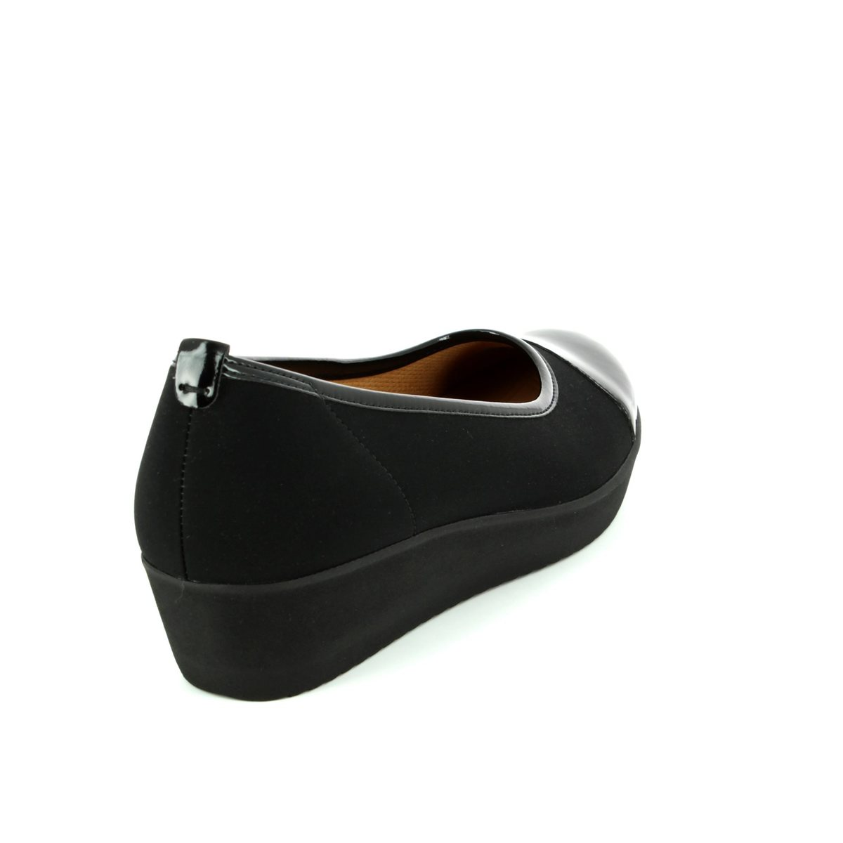 f48f898d9ecc Gabor Wedge Shoes - Black patent - 66.471.87 ORIENT