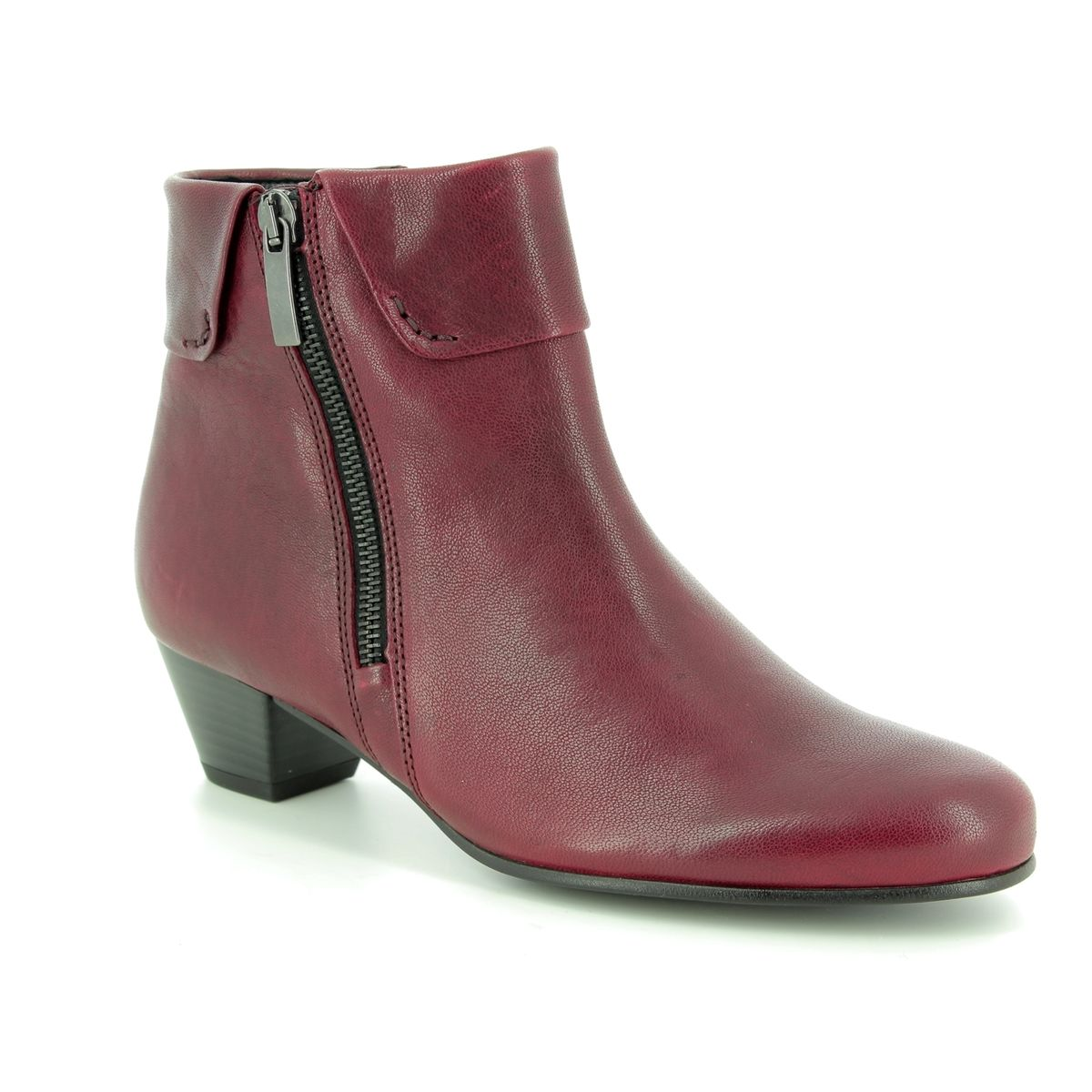 beed65ea33e Gabor Ankle Boots - Dark Red - 96.073.28 ROYSTON