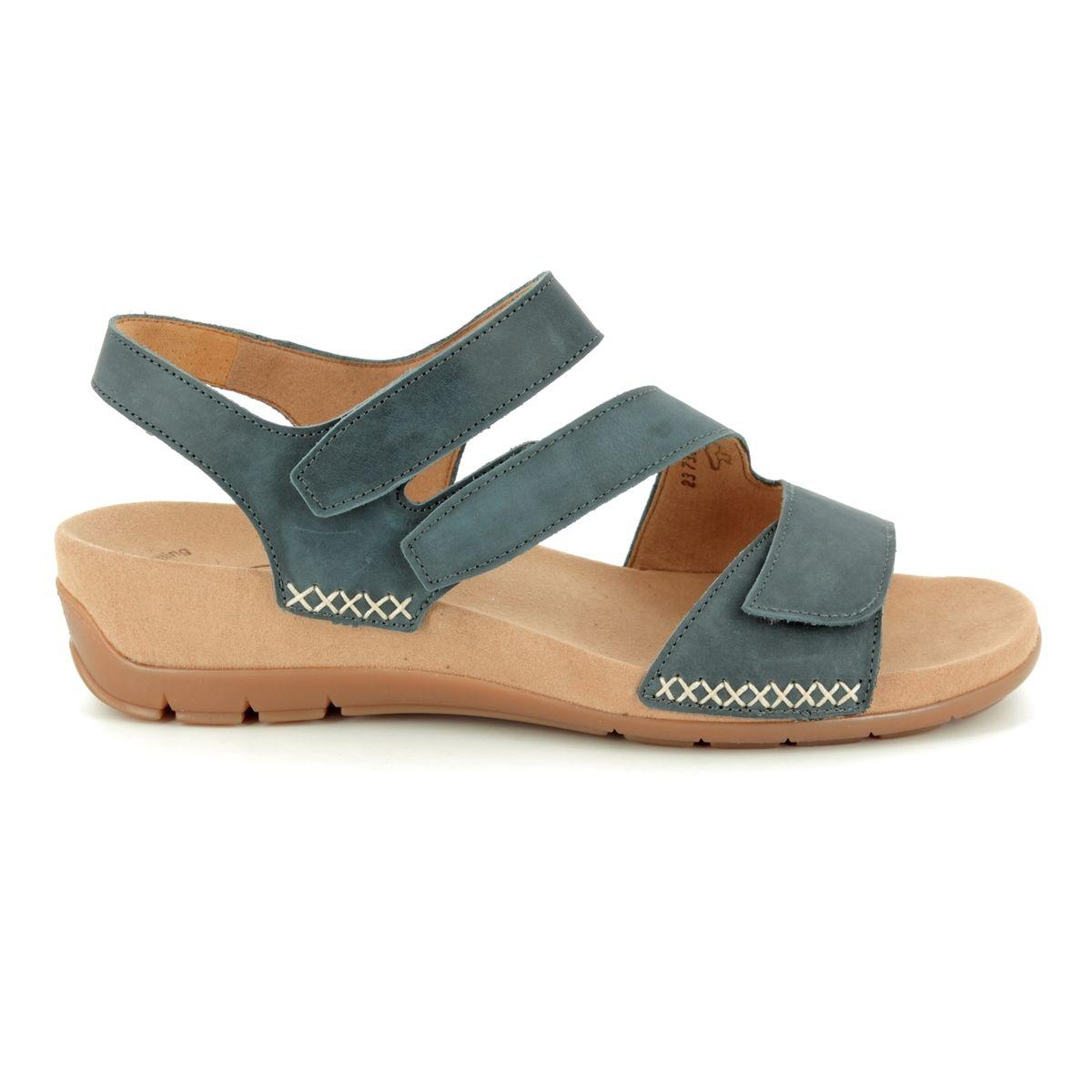 532e4915ac3c Gabor Sandals - Dark grey nubuck - 23.734.36 TOBIN