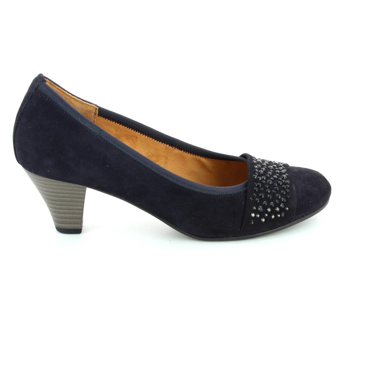 3e7b1ef9268b Gabor Heeled Shoes - Navy nubuck - 55.482.16 WALLACE