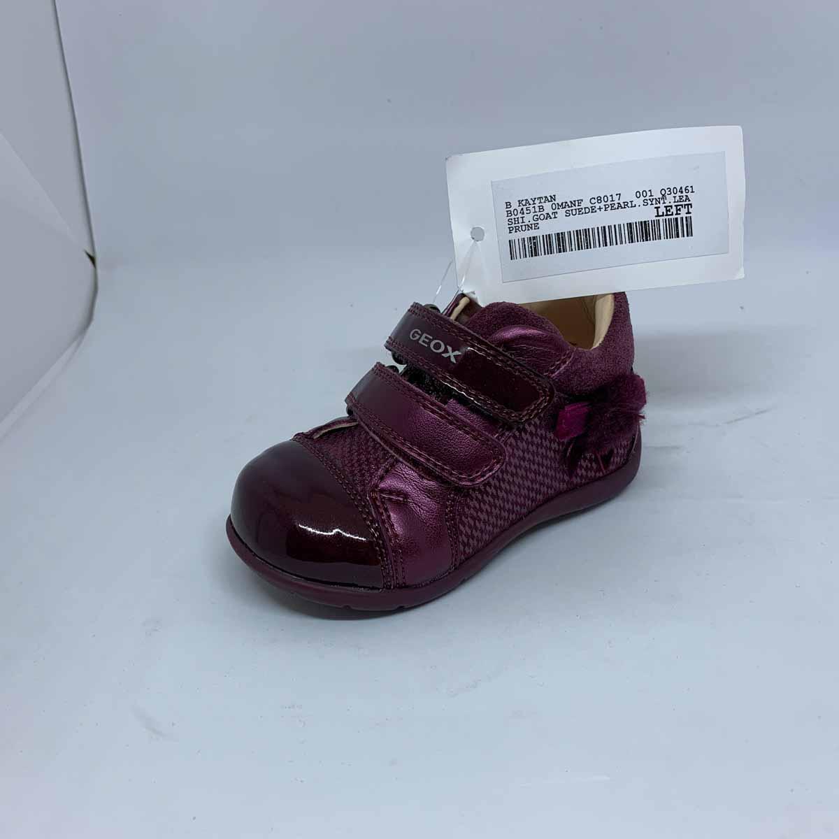 cayó Restricción Blanco  Geox Kaytan B0451B-C8017 Burgundy Infant Girls Boots