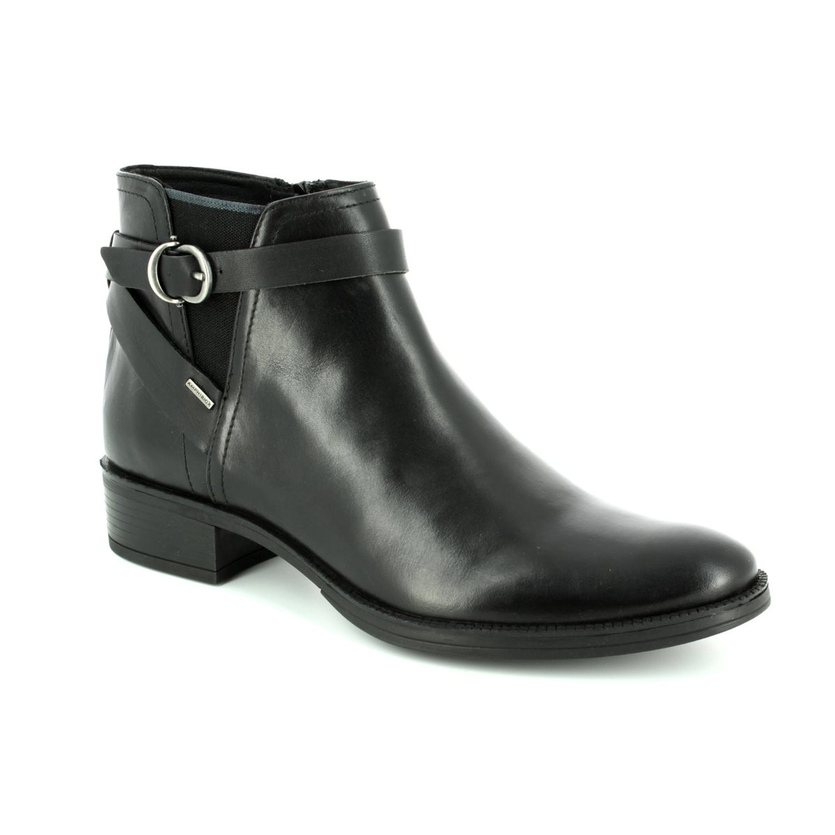 03fc4a0b694 Geox Ankle Boots - Black - D746SD/C9999 MENDI D TEX