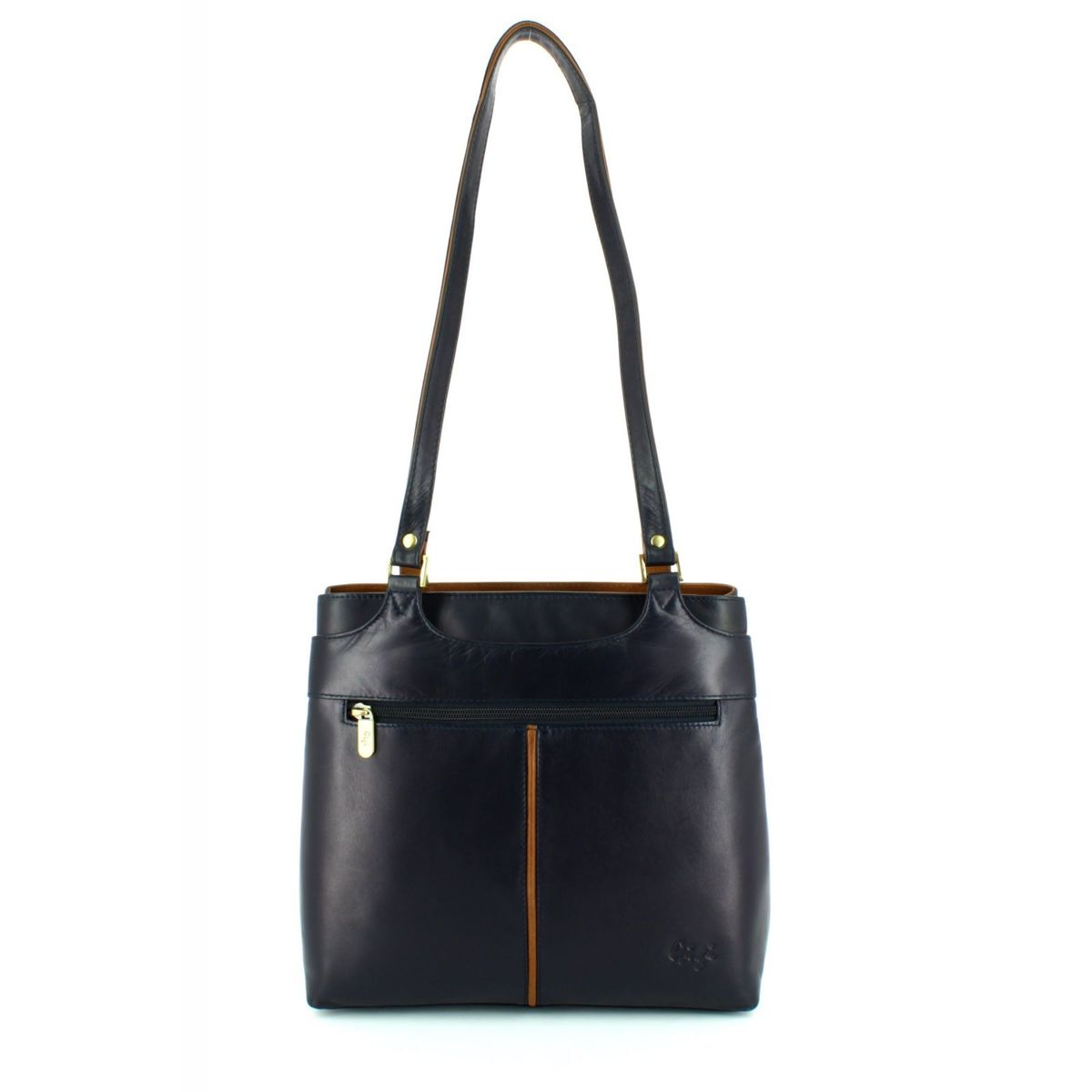 fb36fb08d9d Gigi Bags Othtt 544 0544-70 Navy/tan handbag