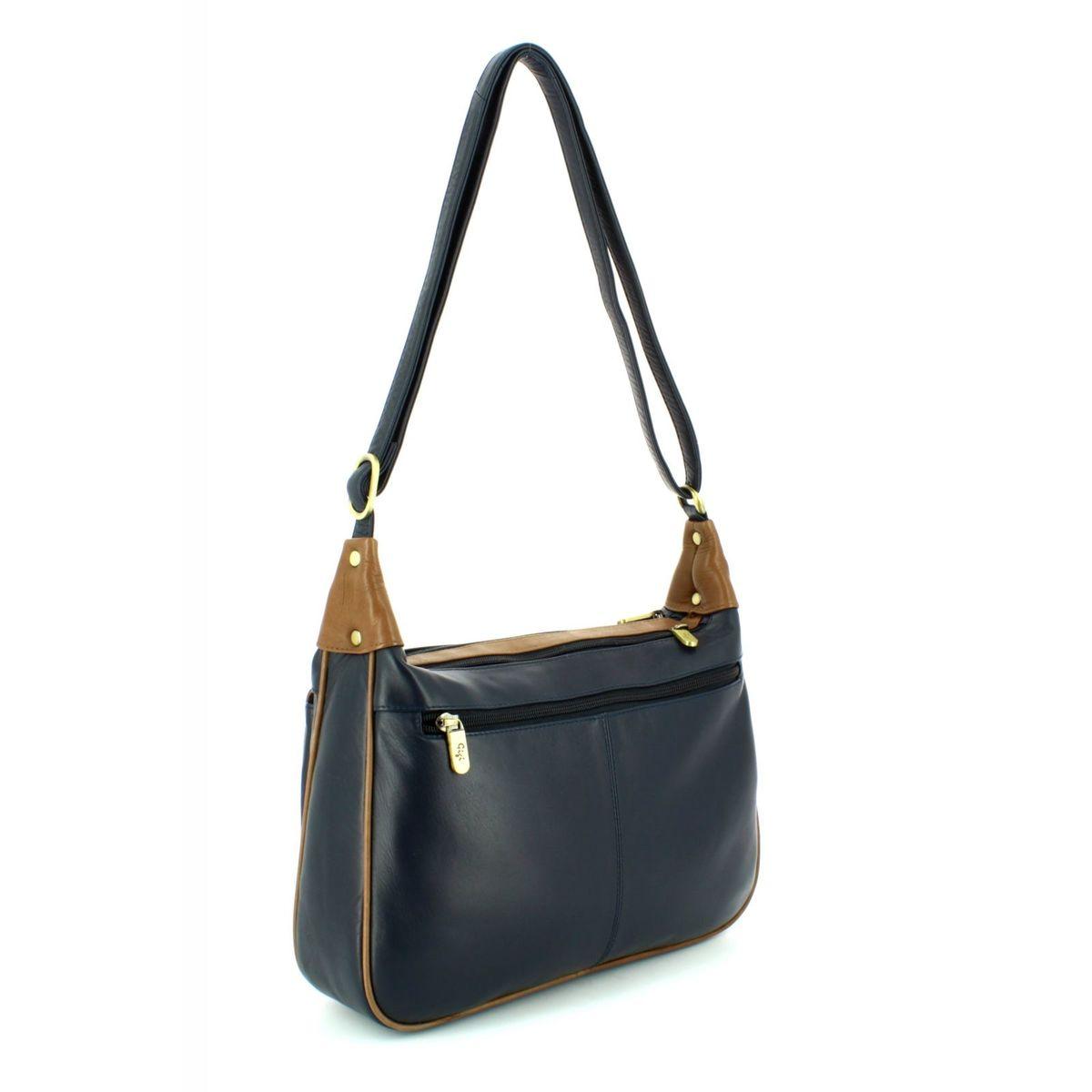 Gigi Handbag Navy Tan 2217 71 Othtt22 17