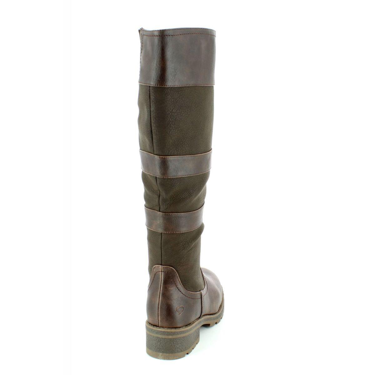 2cdea73d Heavenly Feet Knee-high Boots - Chocolate brown - 7222/22 BURLEY 4