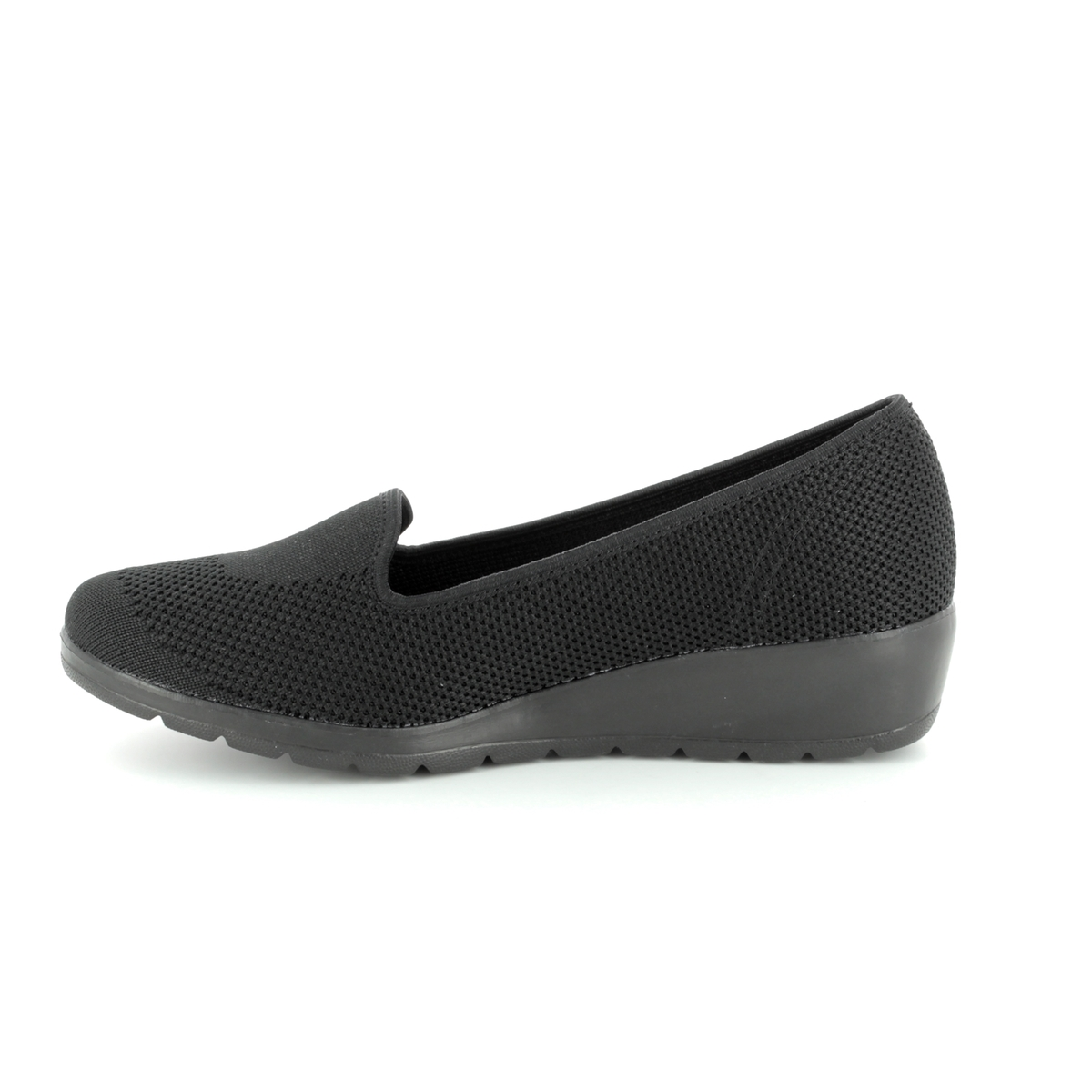 3da4f9129ea1 Heavenly Feet Wedge Shoes - Black - 8125 30 CARNATION