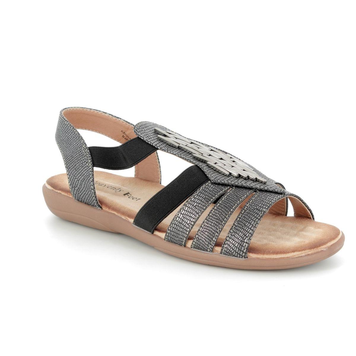 9fad24ec Heavenly Feet Sandals - Pewter - 8108/51 KARINA