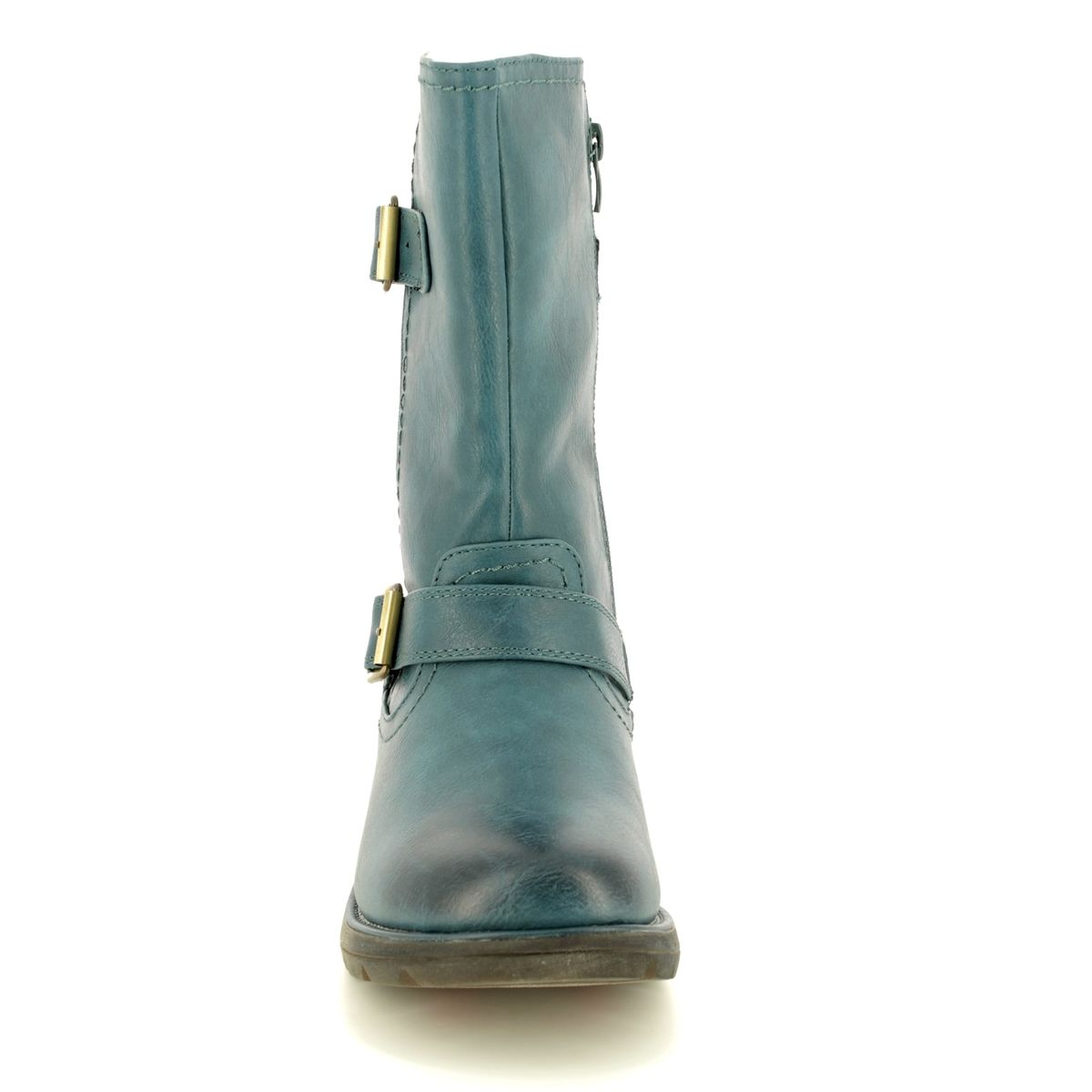 d7ff91017d29d Heavenly Feet Ankle Boots - Teal blue - 8510/70 PACIFIC 2
