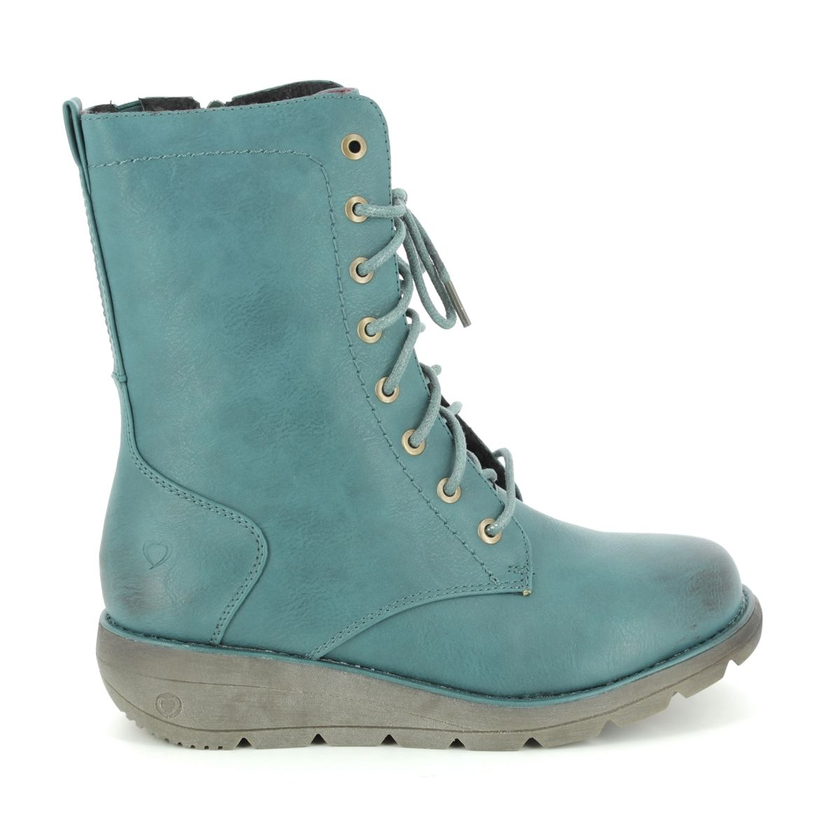 f551999c51a2 Heavenly Feet Ankle Boots - Teal blue - 8516 73 WALKER 2