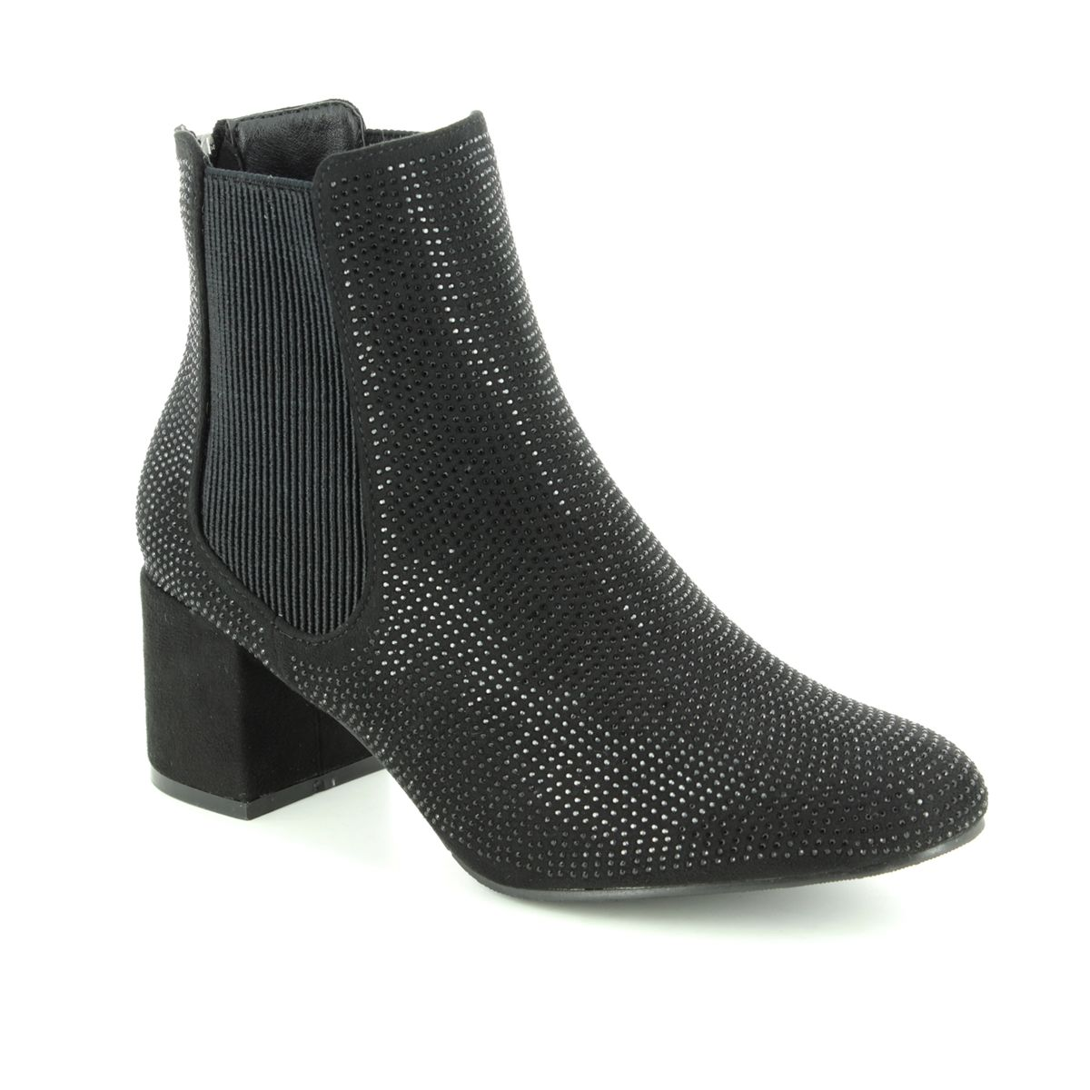 1e213eff Heavenly Feet Ankle Boots - Black gold - 7218/30 WAVE