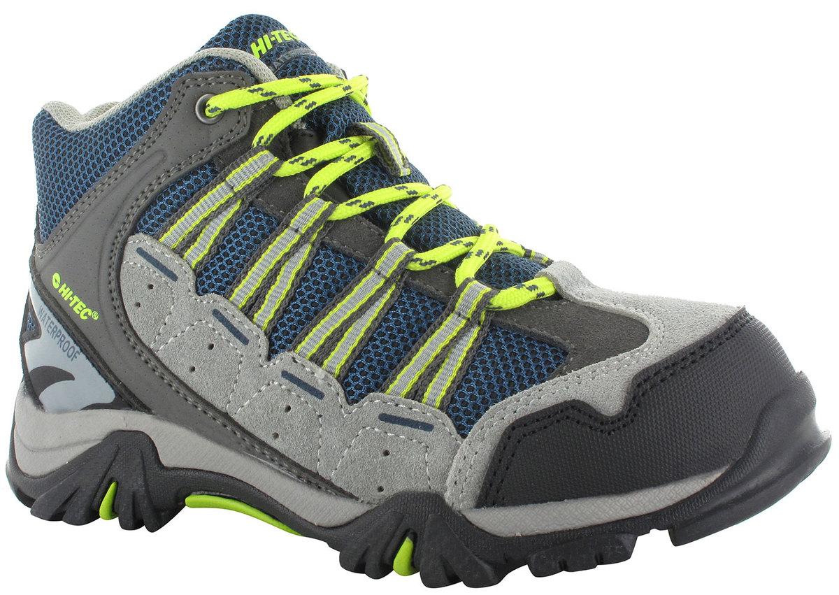 HiTec Forza Mid Childrens Boot Grey Limoncello