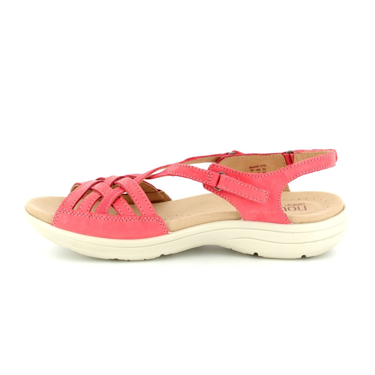 Hotter Sandals C Pink 8109 80 Maisie E Fit