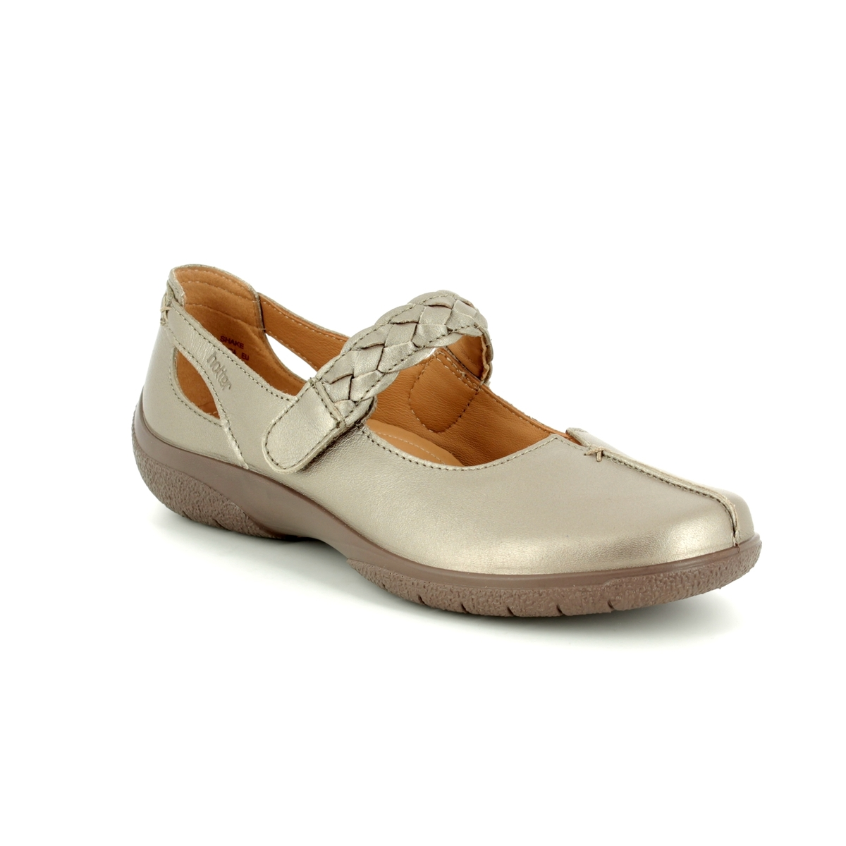 f216ca2e274 Hotter Mary Jane Shoes - Metallic - 8111 01 SHAKE E FIT